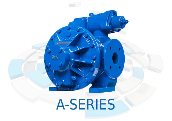 The design of the A-Series pumps, utilizes an eccentric disc according to the Mouvex principle, this enables self-priming, even when dry, and pipe clearing.
