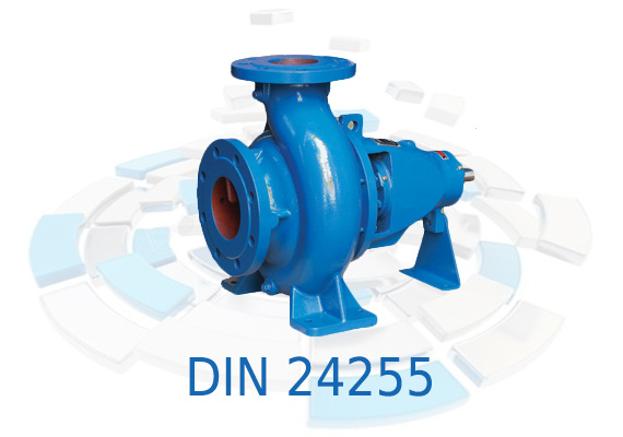 Designed for water handling, pumps have an oversized bearing housing with grease lubricated bearings. Impeller is closed type, with high efficiency and axial thrust balancing holes.