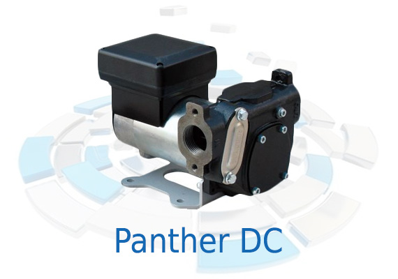 Made to complete the Panther range for transferring diesel fuel, these pumps are of the rotary vane type, self-priming, with high flow rate and easy operation and installation.