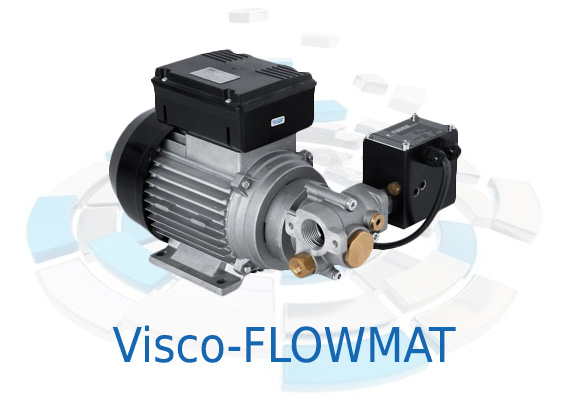 The new range of VISCOMAT pumps with pressure switch is designed to satisfy requirements for deliveries with a constant flow self-priming pump with automatic switch-off at the end of delivery.